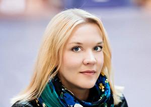 Johanna Holmström.