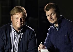 Jørn Lier Horst & Hans Jørgen Sandnes.